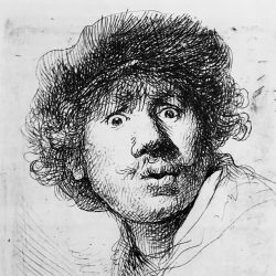 Rembrandt van Rijn in the Magazine